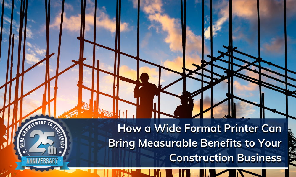 How to Add Value to Your Construction Project with a Large Format Printer